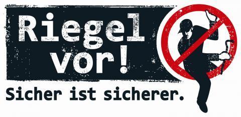Riegel vor! Eine initiative der Polizeit NRW