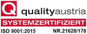 QM ISO 9001 Zertifizierung